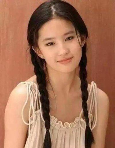 明星双扎马尾发型谁最美 杨幂范冰冰刘亦菲双扎马尾发型