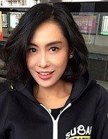 45岁紫霞仙子短发还是那么美 细数朱茵美如画发型