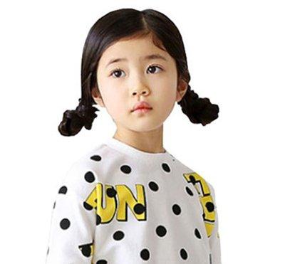 甜馨马尾编发变身小公主 儿童那些美哭了的扎发造型