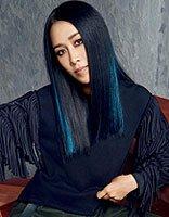 天后那英超模刘雯拍写真 那英PK刘雯谁的发型气场足