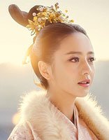 陈思成老婆佟丽娅发型 有一种美只存活在古装世界