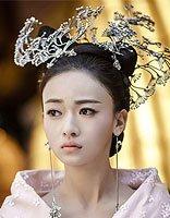 神画风的朝歌发饰用银制品 女生仙气原来要靠发型的