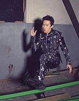 宝爸邓超写真好有魔性 邓超不可错过的搞怪气质发型