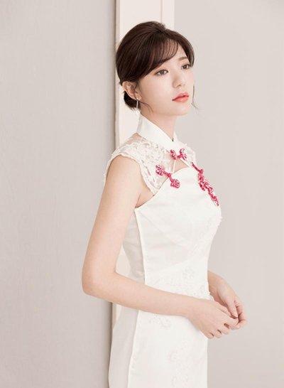 旗袍女神郭雪芙古典又唯美 女明星演绎旗袍与发型的搭配技巧