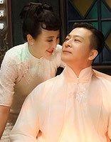 岳丽娜于毅民国剧写真发型 实力白衣演绎风华绝代