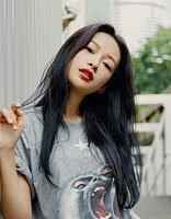 孙怡长发街拍超美好 扮演辣妈显瘦是主题