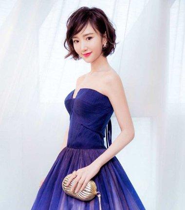 毛晓彤惊艳礼服装 短发妹纸可以如此动人
