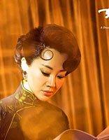 许晴黑衣旗袍复古盘发 最具民国风的装扮典雅超俗