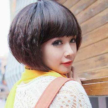 女生短发玉米烫发的种类 女生超短发玉米烫图片