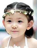 五岁小女孩头发超短扎怎样的辫子 超短头发的扎法