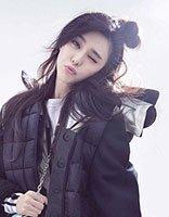 范冰冰慵懒丸子头少女感满满 女明星个性丸子头发型演绎