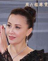 刘嘉玲露额高盘发穿蕾丝性感高贵 刘嘉玲最有气质的五款发型