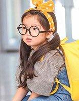 萌妹阿拉蕾可爱发型 10后小女孩潮流梳发发型