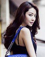 阔太熊黛林婚纱造型优雅性感 九头身气质美女熊黛林演绎妩媚长发发型