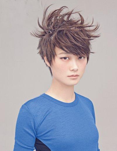 这样的李宇春好帅气 李宇春中性超短发你最喜欢哪款