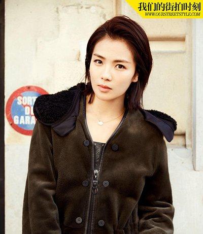 刘涛短发冬日时髦穿搭 大气女神刘涛魅力发型大盘点