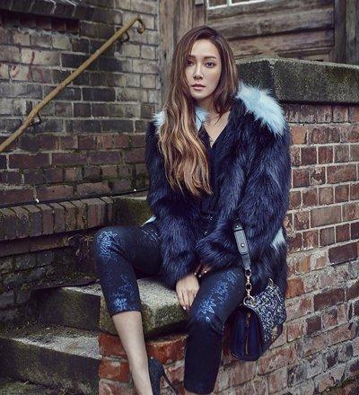 保暖又帅气的女生发型来了 郑秀妍冬季街拍发型美爆了