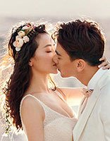 陈紫函戴向宇又一波婚纱照来袭 婚礼前的唯美见证