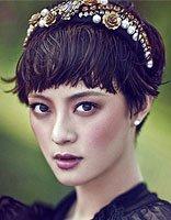 林志玲扎蝴蝶结现身可爱感爆棚 论发饰对发型的正确搭