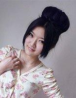 带图解简单大方的花苞头梳发方法 简单大方包发图片