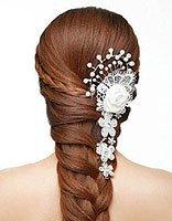欧式马尾辫新娘发型步骤 2017新马尾发型