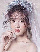 大脸新娘适合什么发型图片 大脸女人的发型图片
