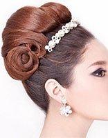 中长发新娘发型详细步骤 diy中长发新娘发型