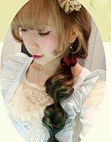 发型设计女生中长发马尾 流行美马尾发型扎法
