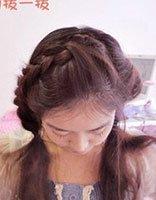 十岁小女孩长发型 梳小孩的长发发型的方法