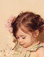 儿童短头发梳辫 短头发开始扎辫子怎么扎好看