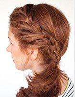 中年女性长头发的梳法 梳头教程+中长头发