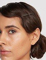 中年长头发怎样盘好看 中长头发简单盘发方法
