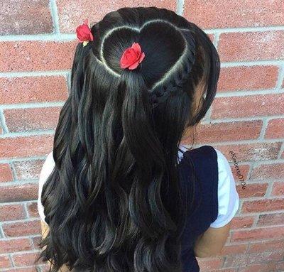 小孩弄马尾各式各样的头发 马尾扎头发方法大全