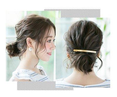 中短卷发头发少怎么扎 头顶头发少的短卷发怎么扎