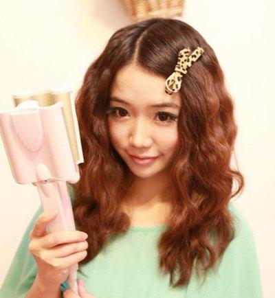 韩国蛋糕卷长发 中长发蛋糕卷发型工具