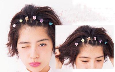 短发怎么梳好看的发型 简单易梳发型梳法