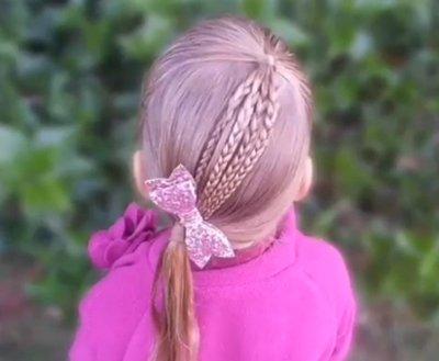 100种发型梳法 孩子梳头发型即简单又好看