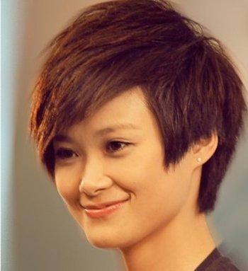 方型脸适合什么短发型 方脸型短发发型图片
