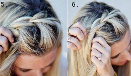 高刘海发型如何梳理 简单好看发型梳发