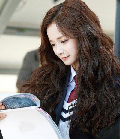 少女梳什么头型好看 怎样梳韩版少女头