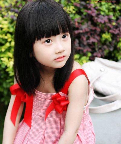 幼儿园小女孩短发发型大全 儿童短发弄什么发型好看图片