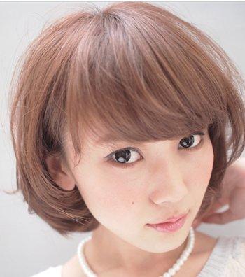 最萌的短发发型 发型短发什么样的好看图片