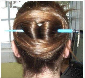 长头发如何使用发簪 长头发簪子的用法