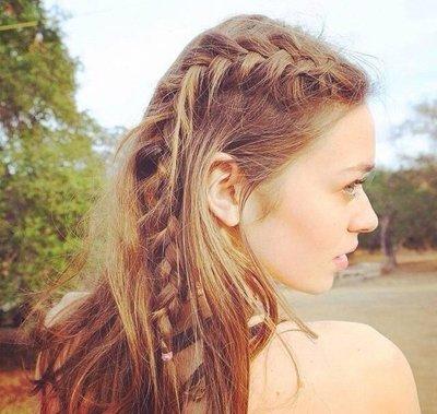 头发长又少适合什么发型 好看的适合头发长但是少的女生的发型