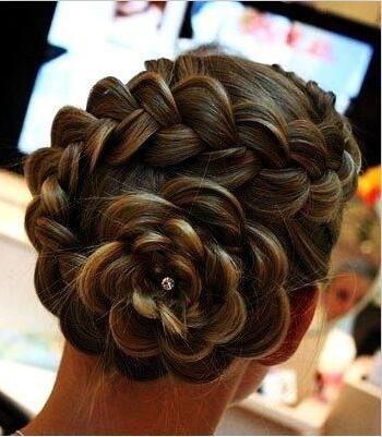 女生长头发怎么扎好看图片过程讲解 小孩长头发的扎法图解