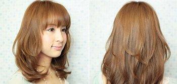 大脸mm适合什么发型 大脸MM适合发型