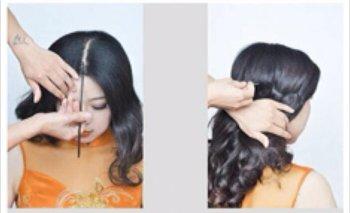 长头发怎么梳既好看又简单的短发 长头发梳理头型