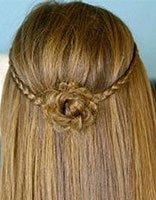 公主发型怎么梳 发型梳法图解