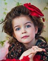 小孩头发有点自来卷要扎什么样的辫子 小孩卷发扎发