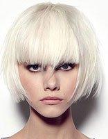 女孩长方脸适合什么样的短发 不对称方脸短发